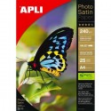 PAPIER PHOTO SATIN PAPER 240G 25 FEUILLES - APLI