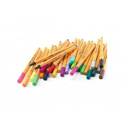 ETUI DE 10 CRAYONS FEUTRES ASSORTIS POINT 88 - STABILO