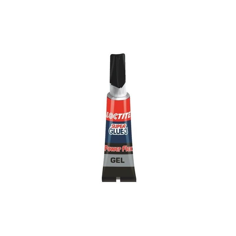 TUBE DE SUPER GLUE-3 POWER FLEX GEL LOCTITE 3G