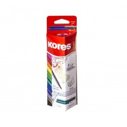 12 FEUTRES K-LINER ASSORTIES 0.4 MM - KORES