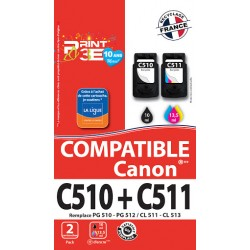 PACK COMPATIBLE CANON C512/513