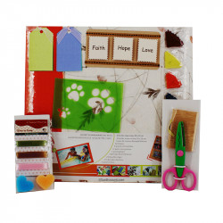SCRAPBOOKING KIT ALBUM PHOTO HAND MADE PAPER