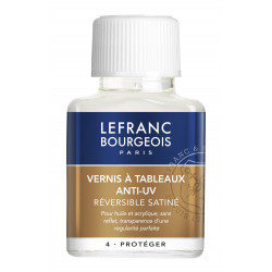 VERNIS A TABLEAUX ANTI-UV - SATINE - LEFRANC BOURGEOIS