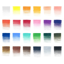 SET DE 24 CRAYONS COULEUR STUDIO COLLECTION WINSOR ET NEWTON