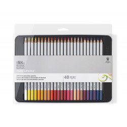 SET DE 48 CRAYONS COULEUR STUDIO COLLECTION WINSOR ET NEWTON