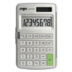 Calculatrice De Poche Avec Etui Rigide Sign