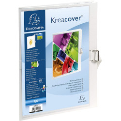 CHEMISE A DOS EXTENSIBLE KREACOVER 24 X 32 CM - BLANC - EXACOMPTA