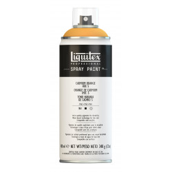 Bombe de peinture  - orange de cadmium 5 - Liquitex