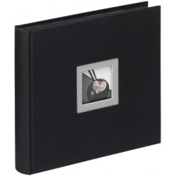 Album Photo Black And White - 26 X 25 Cm - Noir - Walther