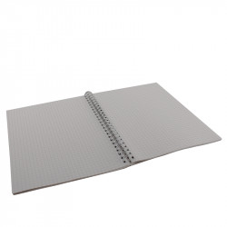 CAHIER SPIRALE  148X210MM 5X5 100 PAGES 70G