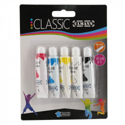 Lot De 5 Tubes De Gouache Assortis 10Ml - Ulmann