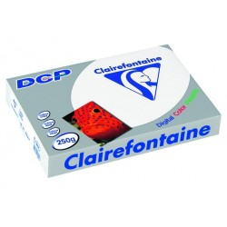 125 feuilles A4 - 250g - Blanc - DCP Clairefontaine