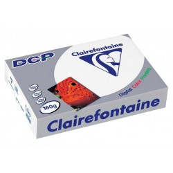 250 feuilles A3 - 160 g - Blanc - DCP Clairefontaine