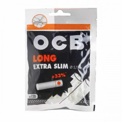 Sachet 120 Filtres Long Extra Slim 5.7Mm - Ocb