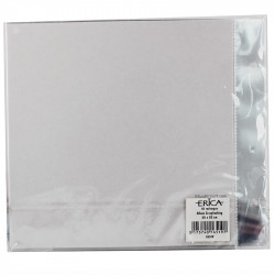 SET 10 RECHARGES ALBUM SCRAPBOOKING 20x20cm - ERICA