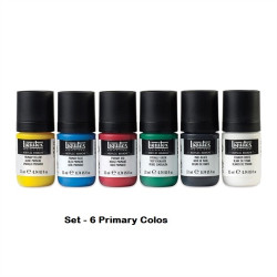 Set Acrylic Gouache 6 x 22ml - LIQUITEX