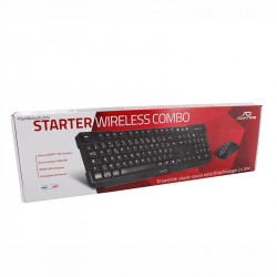 STARTER WIRELESS COMBO PACK CLAVIER + SOURIS - ADVANCE