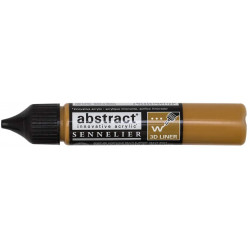 liner-abstract-sennelier-ocre-jaune