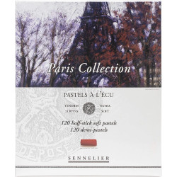 Coffret Collection Paris 120 Demi-Pastels À L'Écu - Sennelier