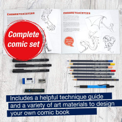 Coffret comic illustration - Faber-Castell