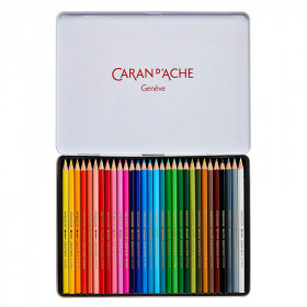 30-crayons-aquarellables-caran-d'ache-interieur