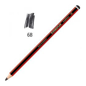 Crayon mine graphite 6B 2mm Tradition Staedtler