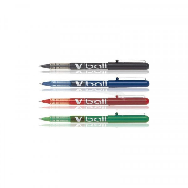 Stylo Roller V-Ball 07 pointe moyenne 0,7mm rouge Pilot | à seulement 1,99 €