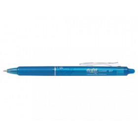 Stylo FriXion Ball Clicker 0.7 pointe moyenne turquoise Pilot