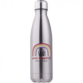 bouteille-isotherme-500ml-metal-champ-happiness-pas-cher