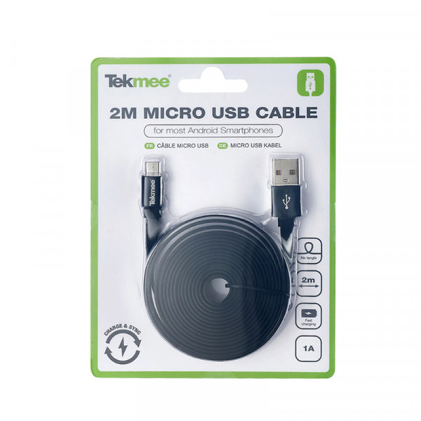 cable-charge-synchronisation-micro-usb-2m-tekmee