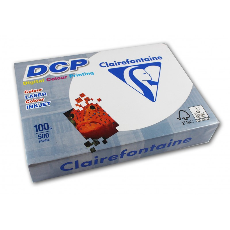 500 feuilles A4 - 100g - Blanc - DCP Clairefontaine