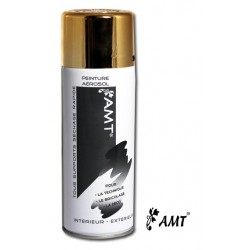 Peinture aérosol - Spray - AMT - Tous supports - Or