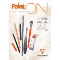 Bloc A3 Paint On - Clairefontaine - 40 feuilles - 250G -  42 x 29,7cm
