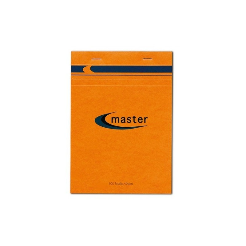 Bloc Master 100 feuilles - 70g - 5x5 - 7,5x10,5cm - Clairefontaine