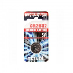 PILE BOUTON RONDE 3 VOLTS CR2032 - MAXELL