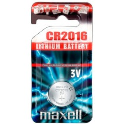 PILE BOUTON 3 VOLTS CR2016 - MAXELL