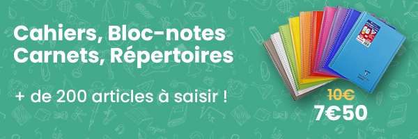 cahiers pas cher - fourniture scolaire