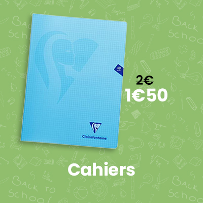 cahiers A4 24x32 pas cher - fourniture scolaire